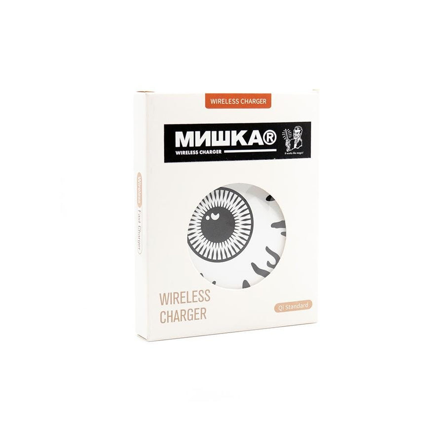 Monochrome Keep Watch Wireless Charger - Mishka