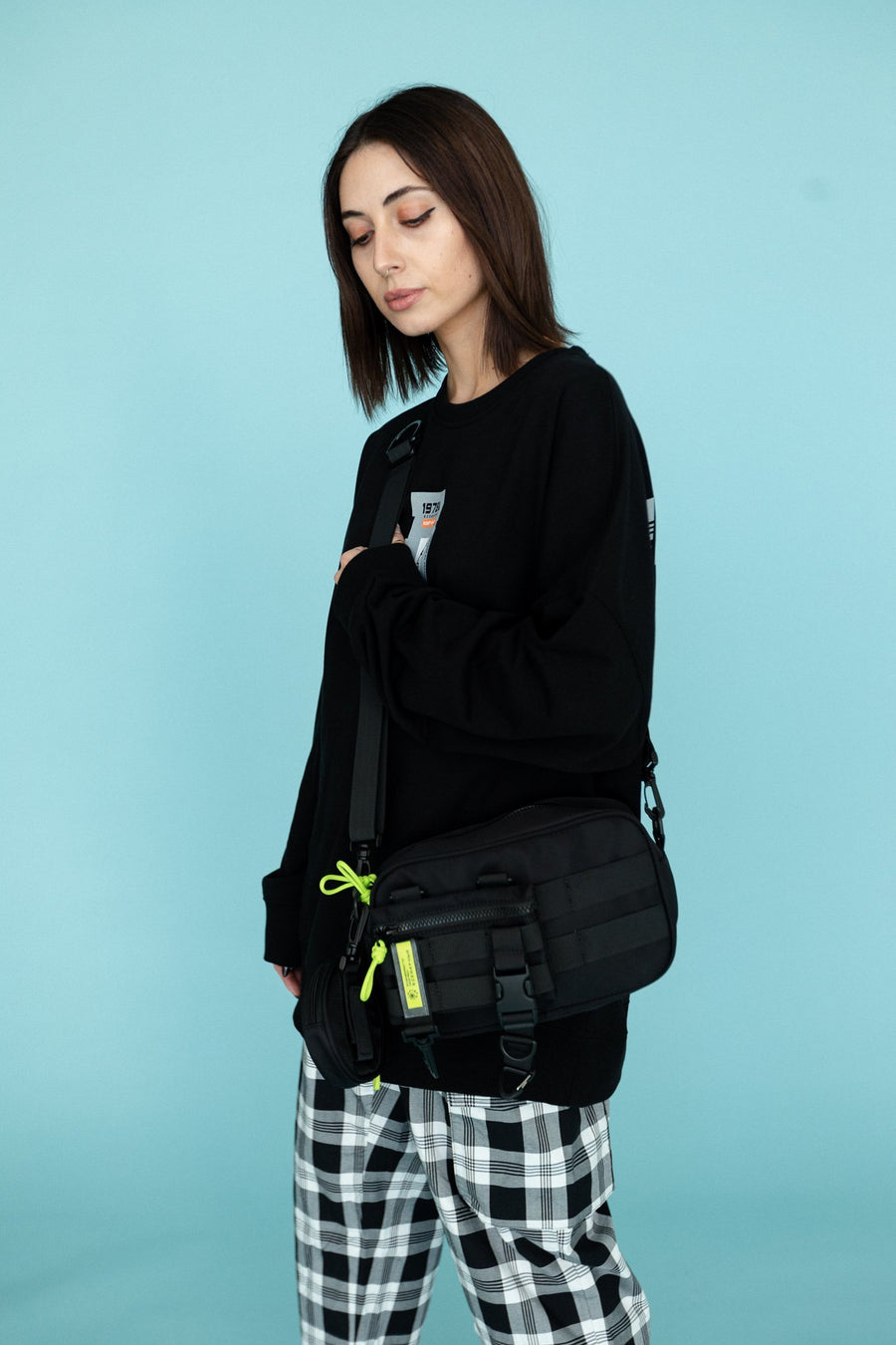 Murdermane Side Bag - Mishka NYC