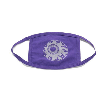 Purple Keep Watch Reflective Mask - Mishka