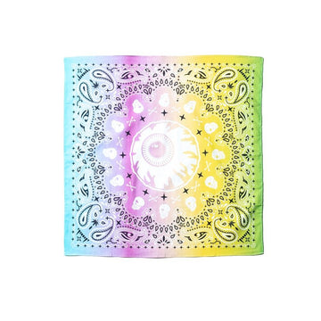 Rainbow Keep Watch Bandana - Mishka