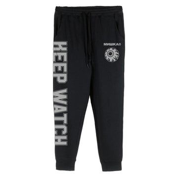 Reflective Keep Watch Fleece Pants - Mishka