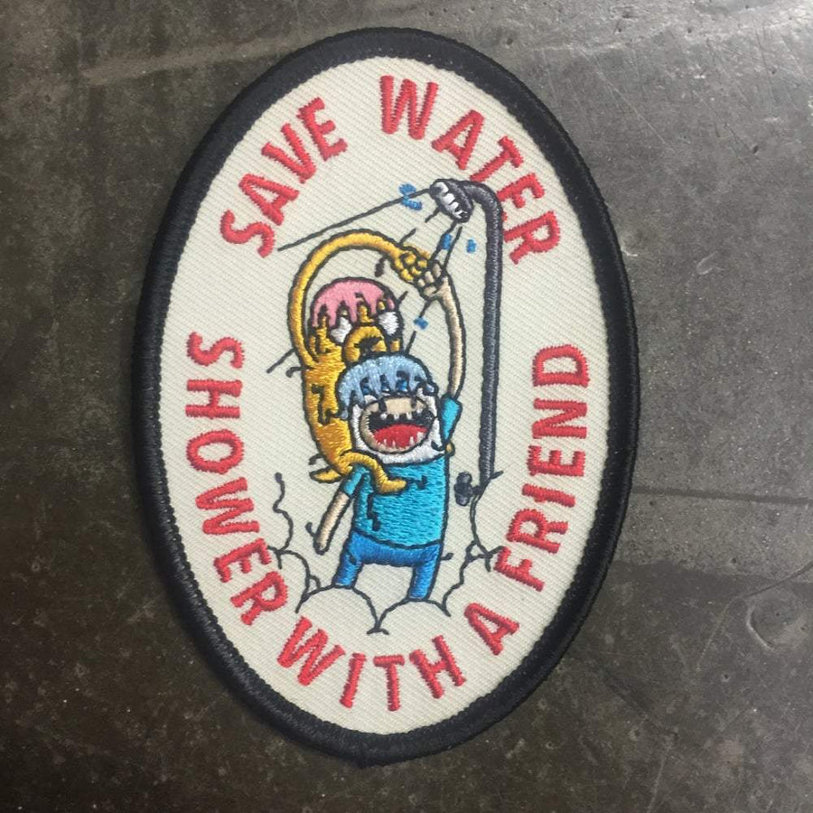 Save Water Patch - Mishka NYC (3923459801157)