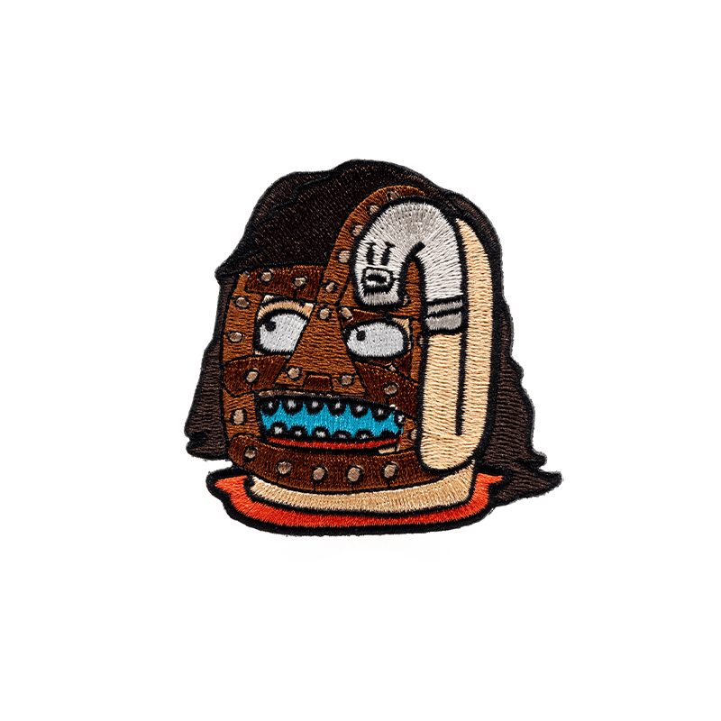 Socko Roll Patch - Mishka NYC