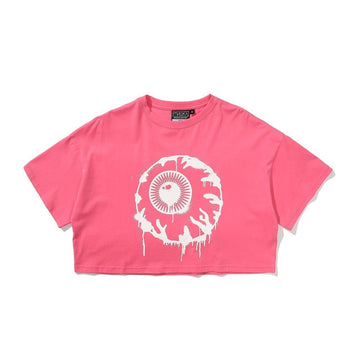 Spray Keep Watch Crop Top - Mishka