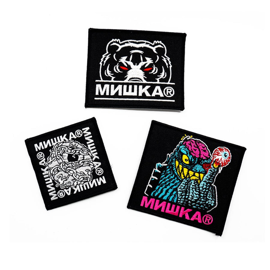 Square Up Patch Bundle - Mishka NYC