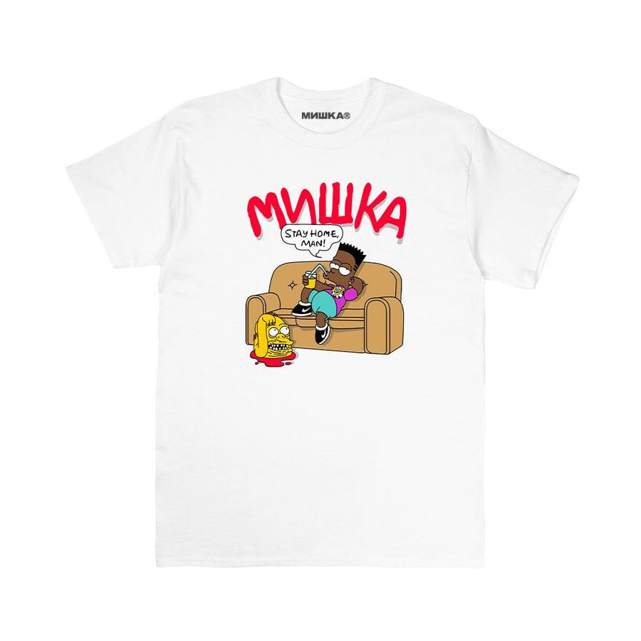 Stay Home, Man! Tee - Mishka