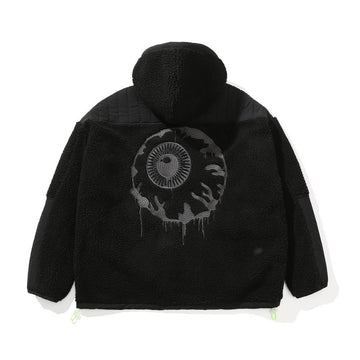 Subterranean Polar Fleece Jacket - Black - Mishka