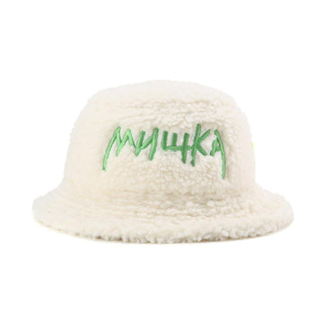 Toxic Cyrillic Polar Fleece Bucket Hat - Mishka