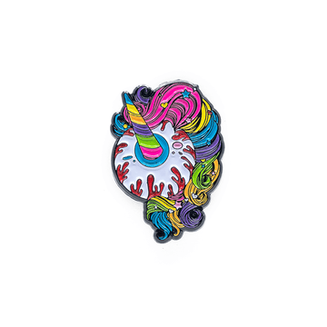 Unicorn Keep Watch Pin - Mishka