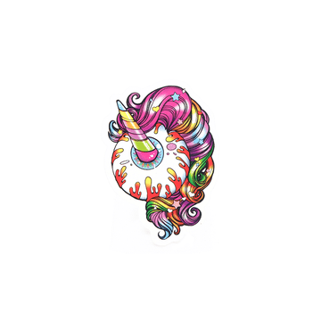Unicorn Keep Watch Sticker - Mishka