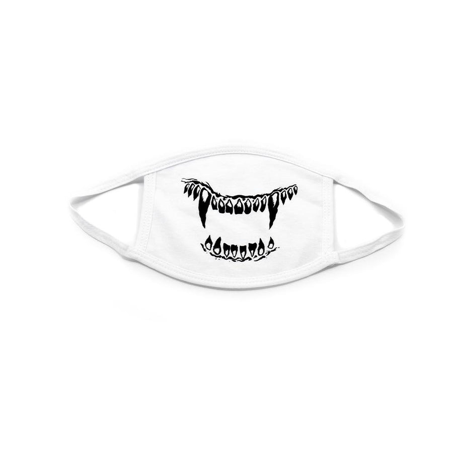 White Kill With Power Face Mask - Mishka