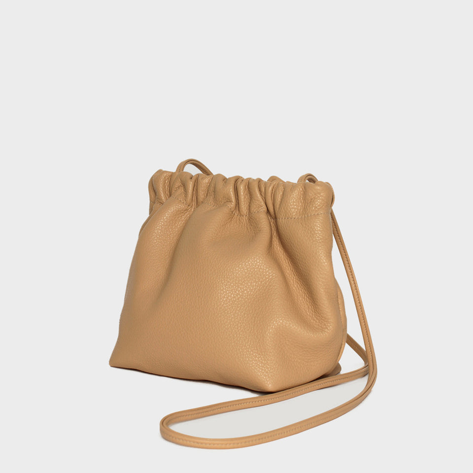 Bar Bag Square Grain Beige