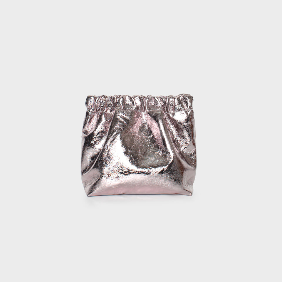 Bar Bag Square Metallic Rose