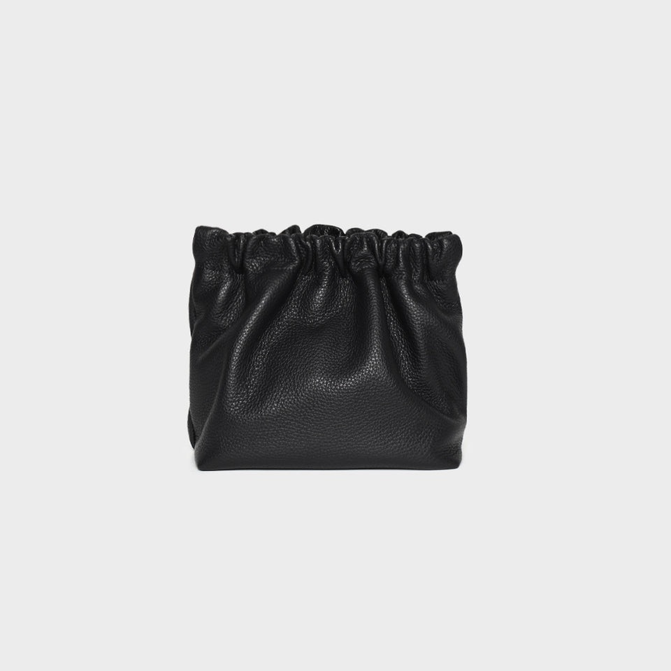 Bar Bag Square Grain Black
