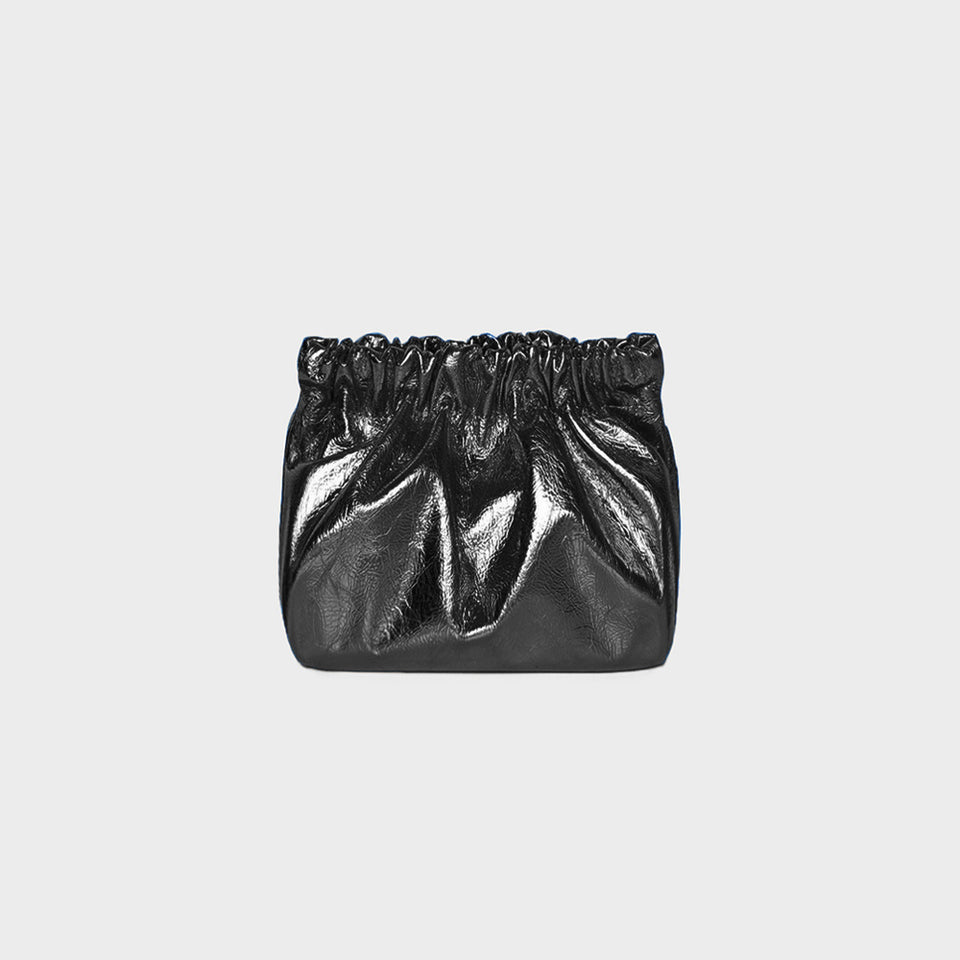 Bar Bag Square Metallic Black