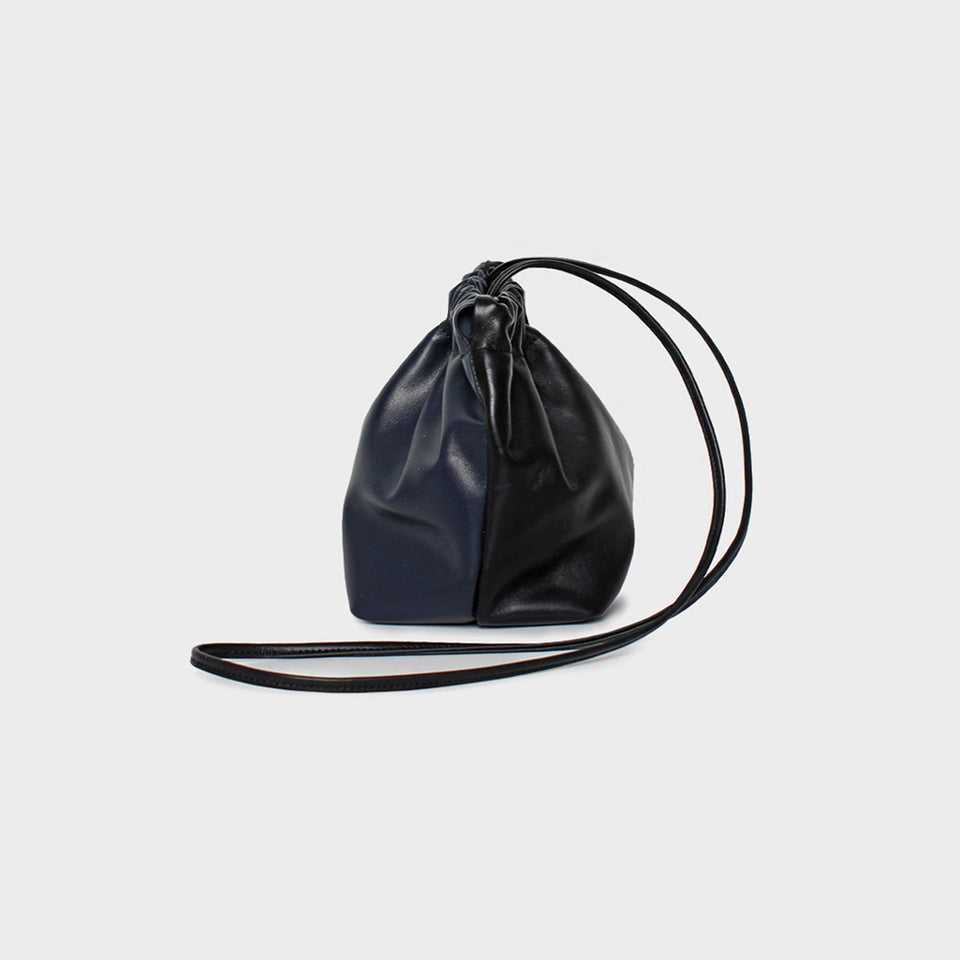 Bar Bag Square Noir Navy