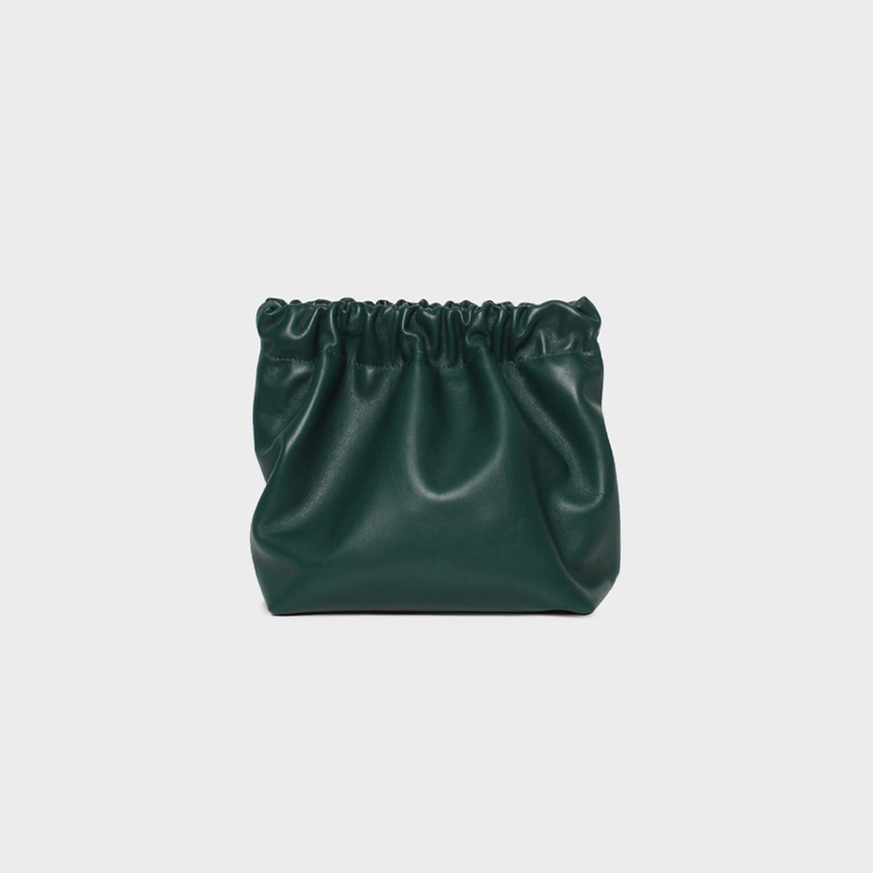 Bar Bag Square Smooth Bottle Green