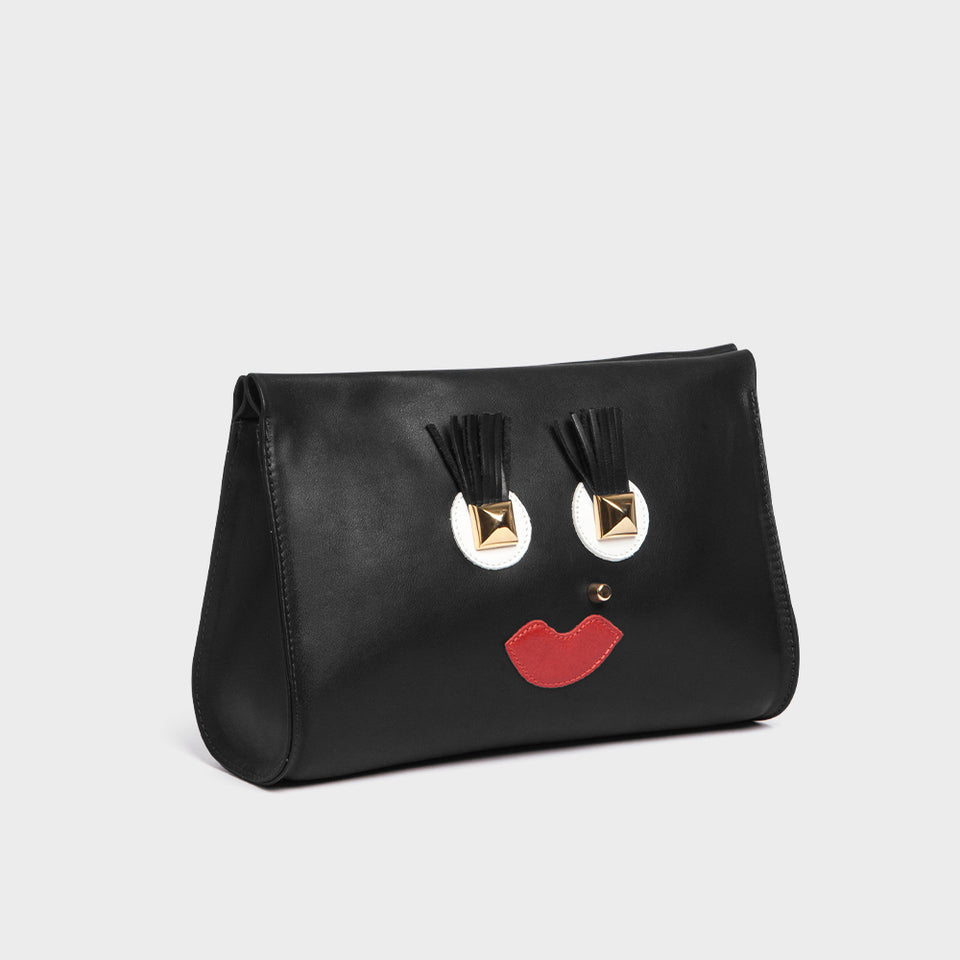 Box Midi Happy Face Black