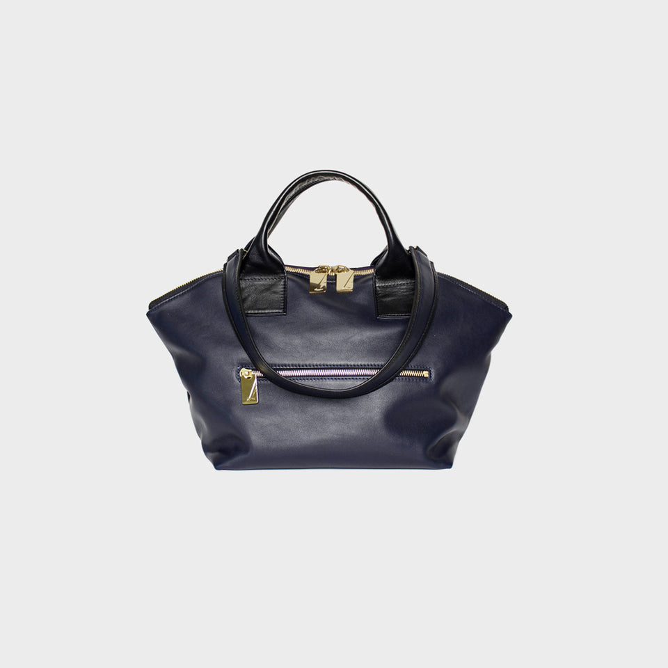 Carry All Handler Midi Smooth Noir Navy