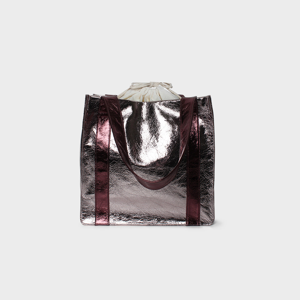 Rose Metallic Grocer Bag Original
