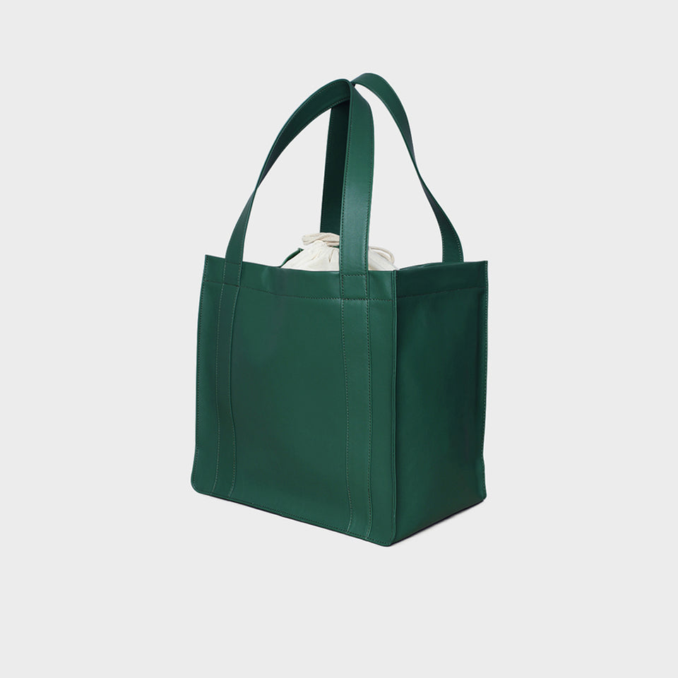 Bottle Green Grocer Bag Original
