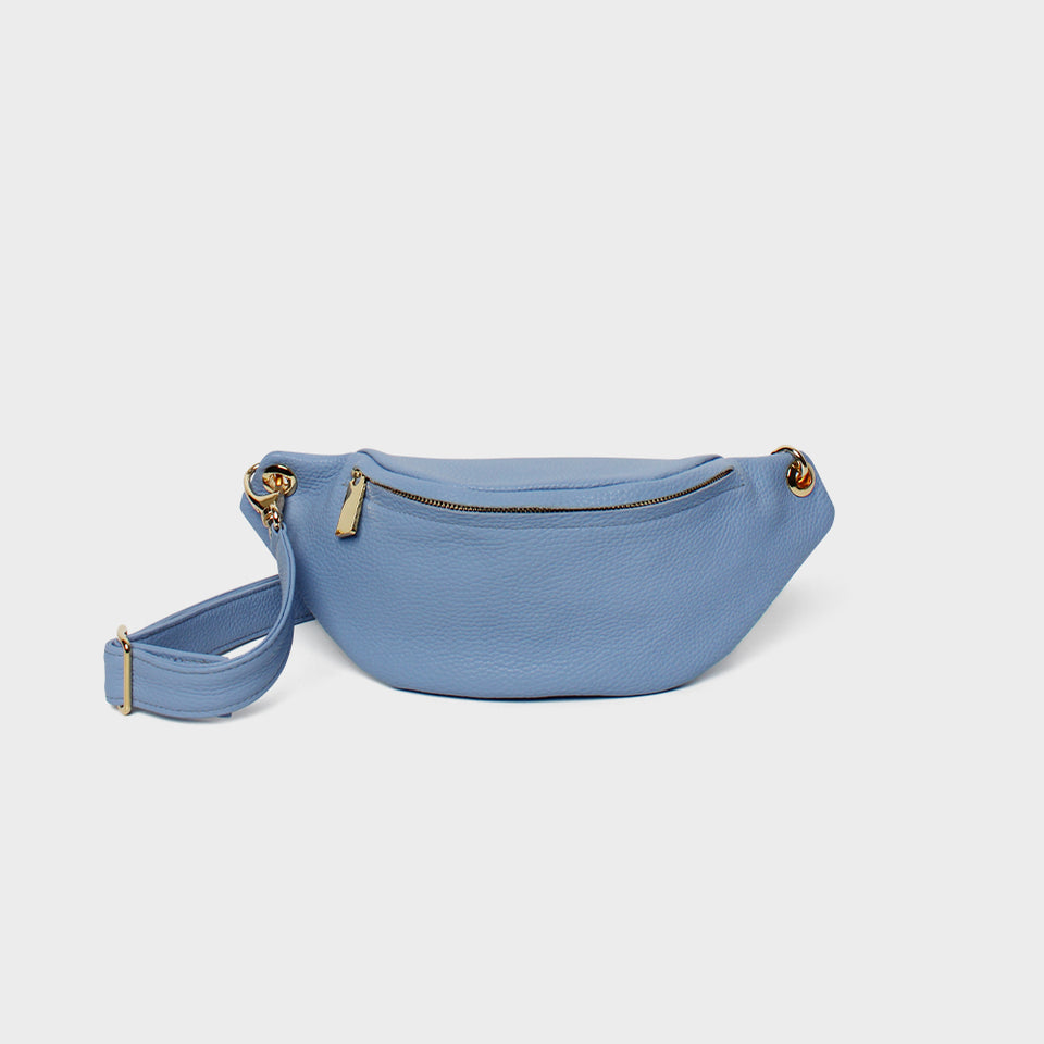 Crescent Belt Bag Blue