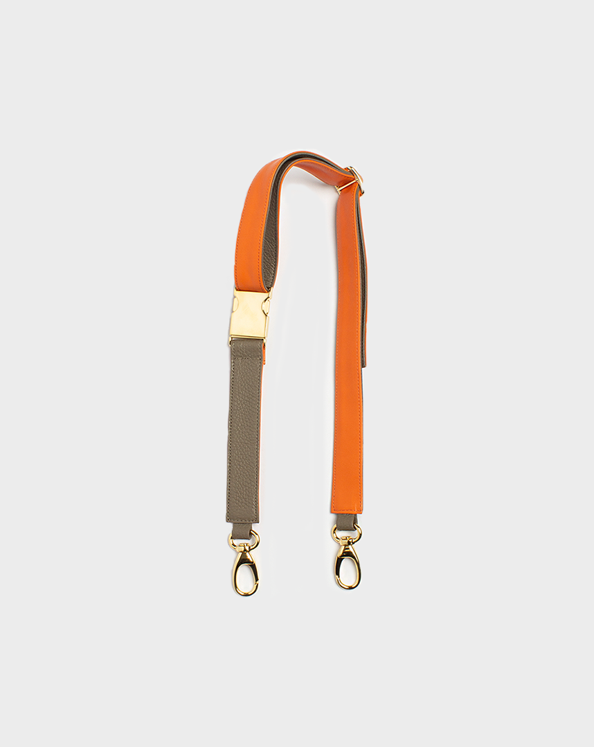 Belt Bag Strap Orange Elephant