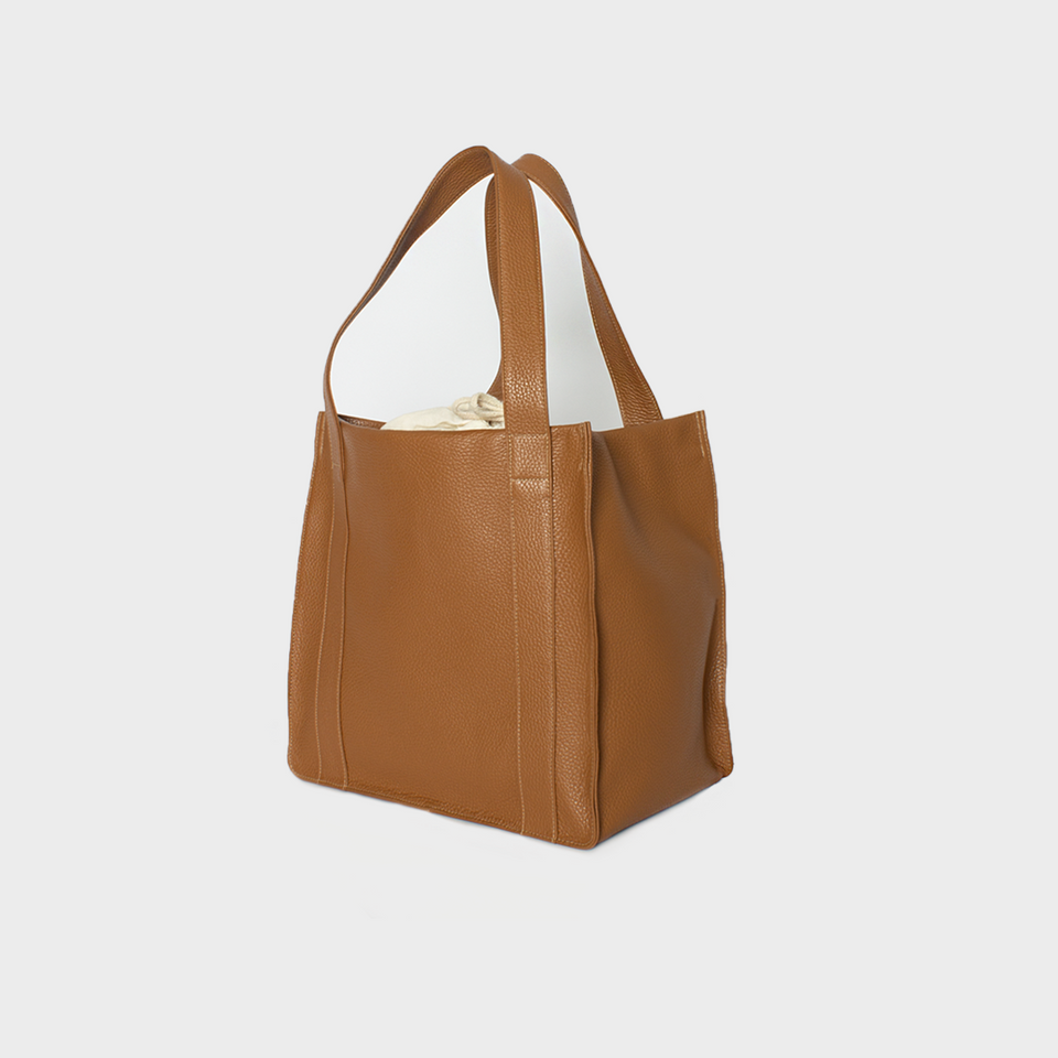 Grocer Bag Original Grain Tan