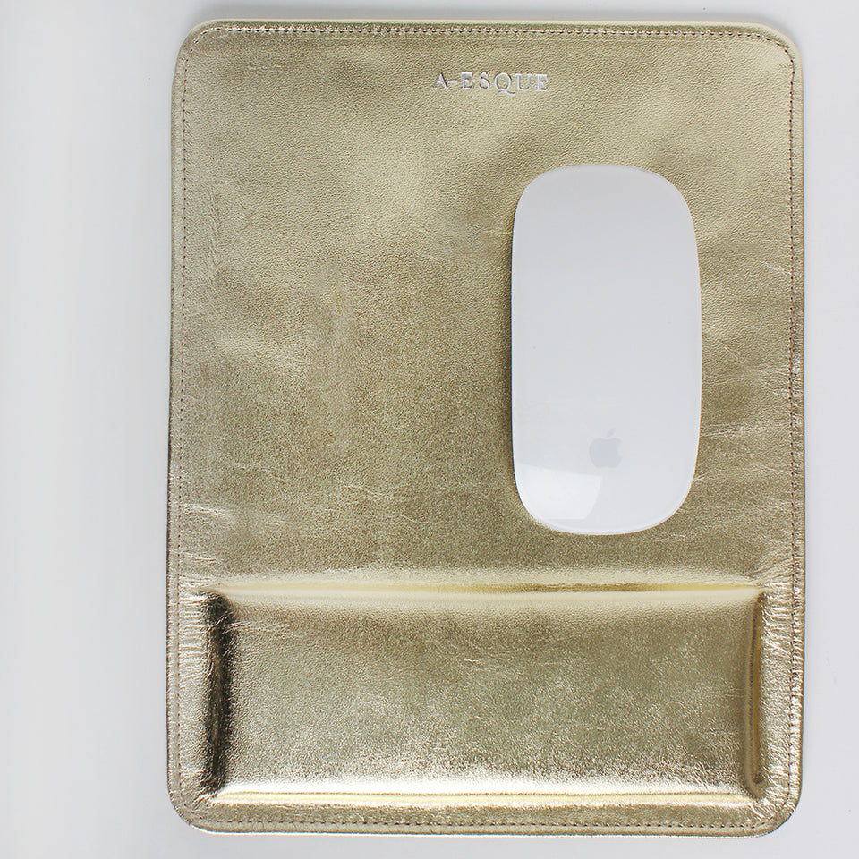 Mouse Pad Matte Gold Metallic