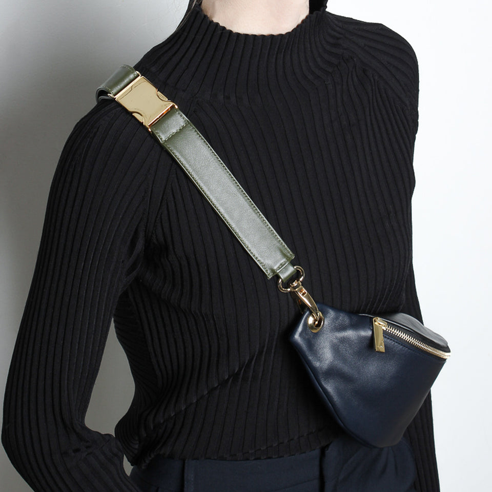 Crescent Belt Bag Navy