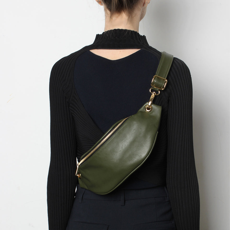 Crescent Belt Bag Khaki