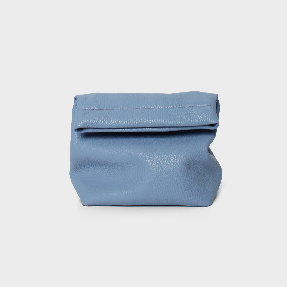 Lunch Bag Grain Blue