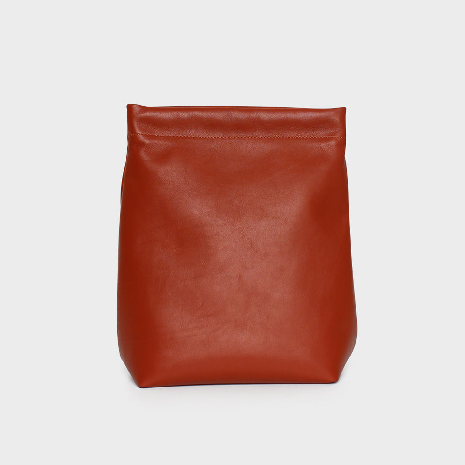Lunch Bag Smooth Terracotta