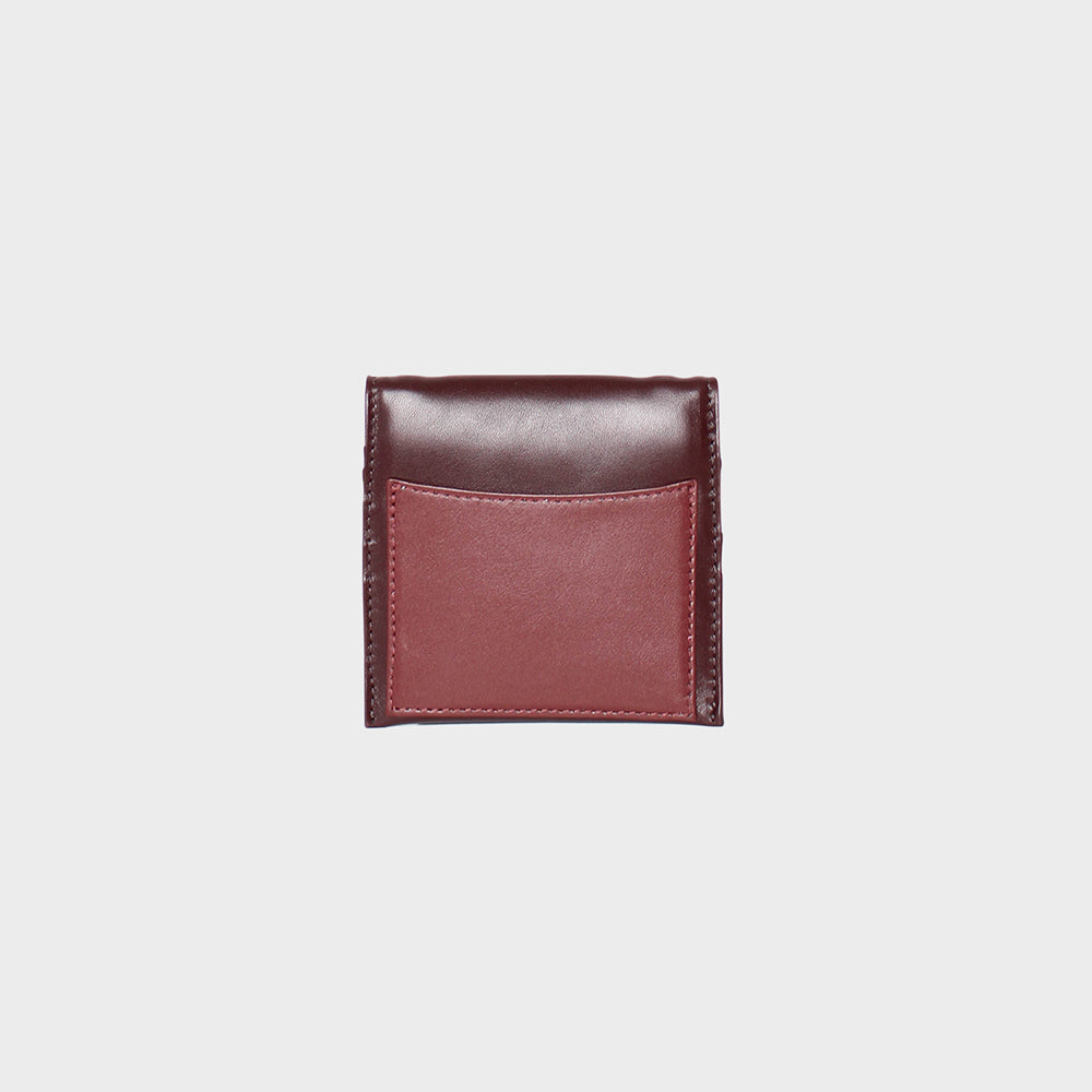 Purists Wallet .50<br>Burgundy