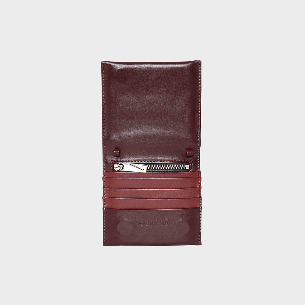 Purists Wallet .50 Burgundy