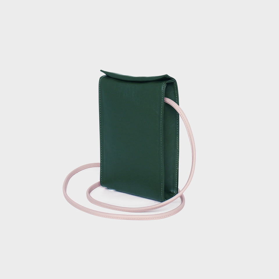 Slim Box Hip Bag II Bottle Green