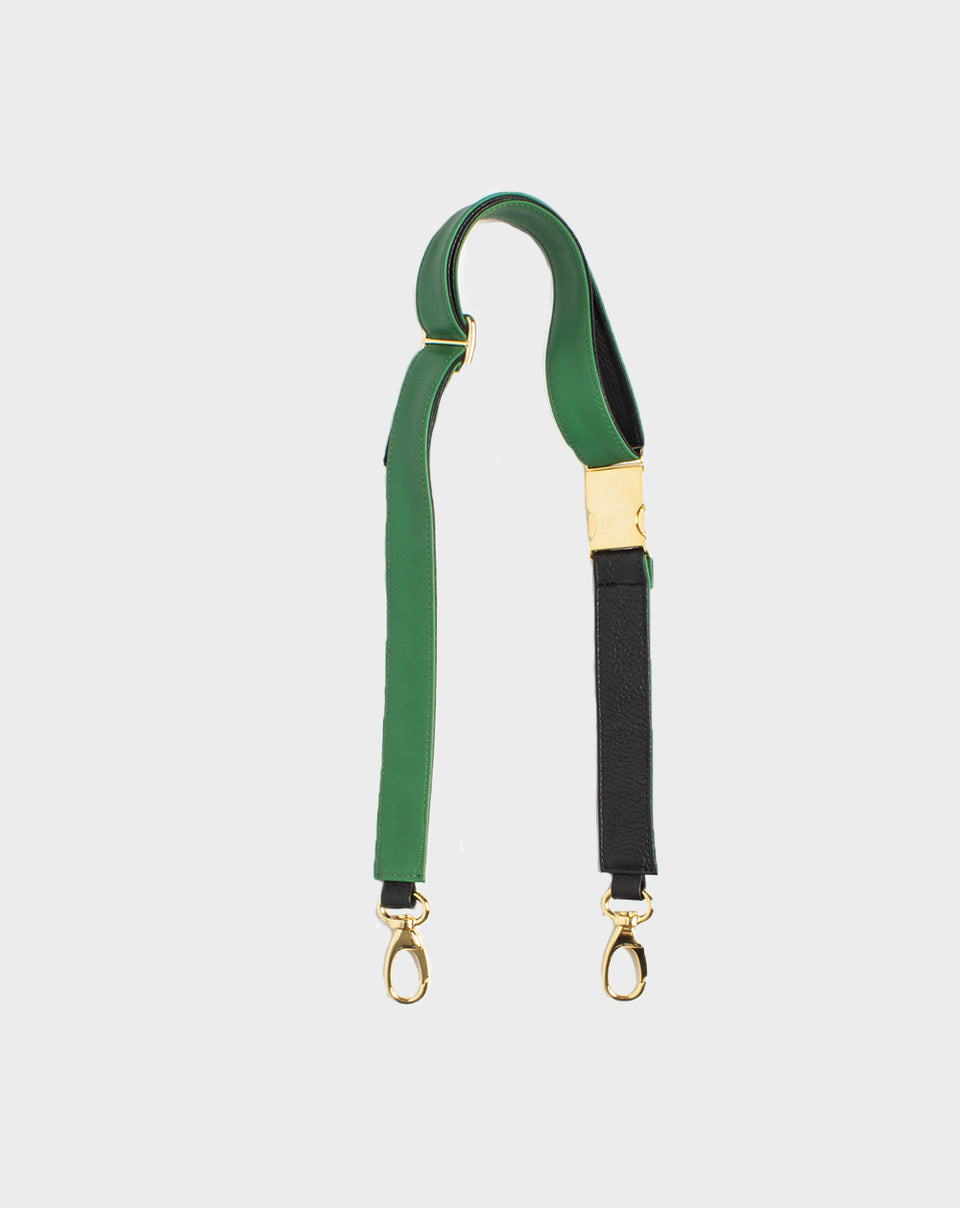 Belt Bag Strap Green Black