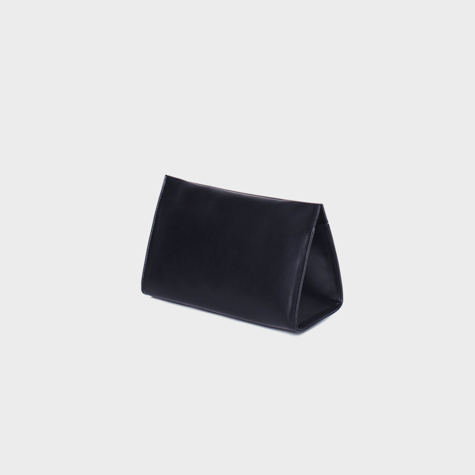 Triangle Clutch Petite Navy