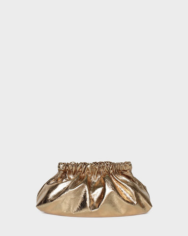 Bar Bag Cloud Petite Gold Metallic