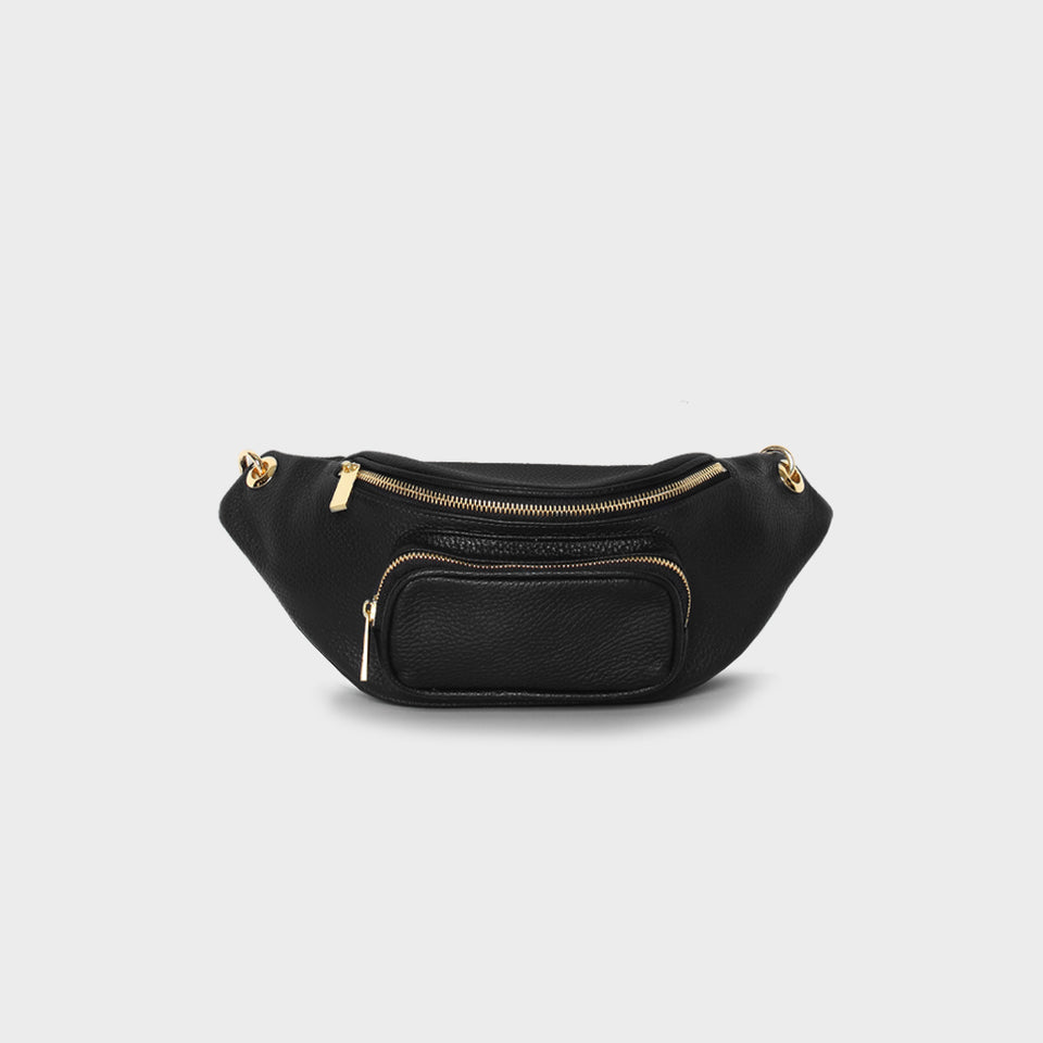 Belt Bag 2.0  Black Grain