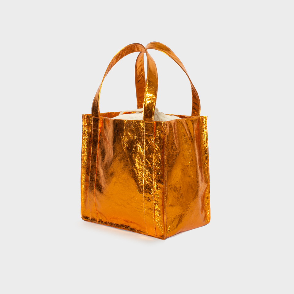 Grocer Bag Original Metallic Orange