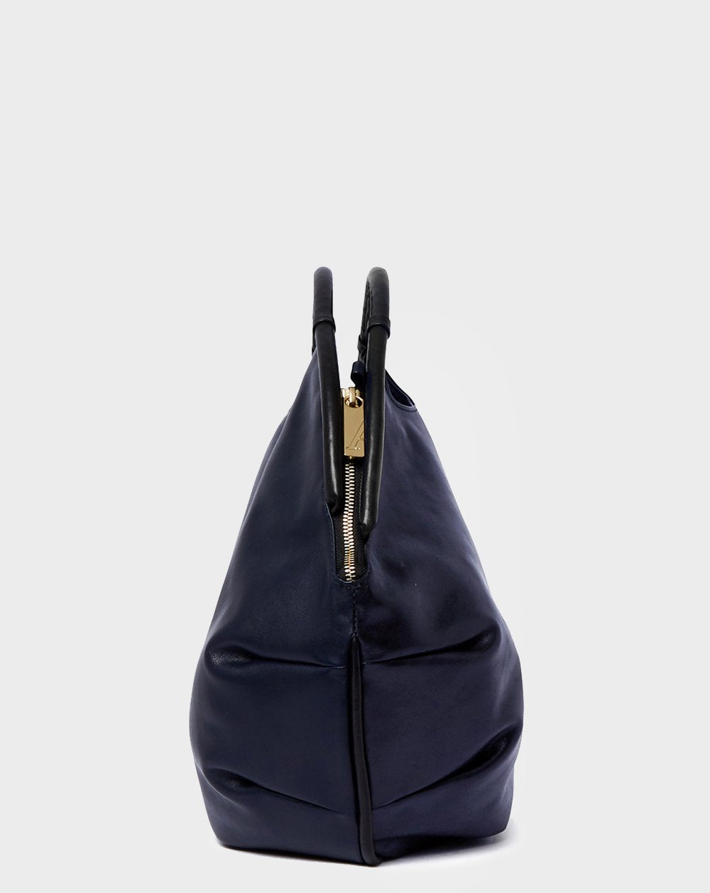 Petal Grande Noir Navy-Shoulder Bag-A-ESQUE
