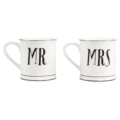 Mr & Mrs Tassen Set