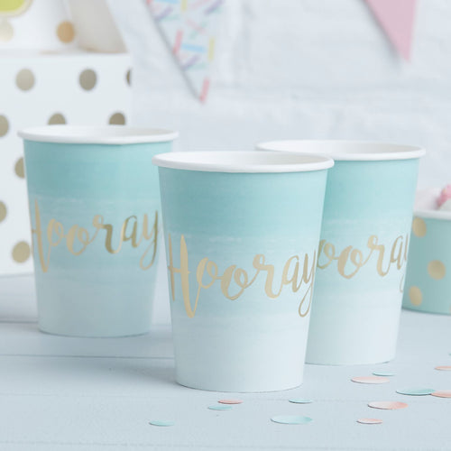 Trinkbecher 'Hooray' Mint