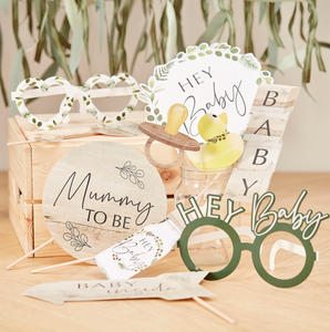 Foto Accessoires Babyparty Recyclebar