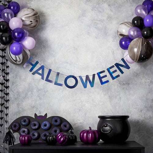 Halloween Ballon Girlande Set