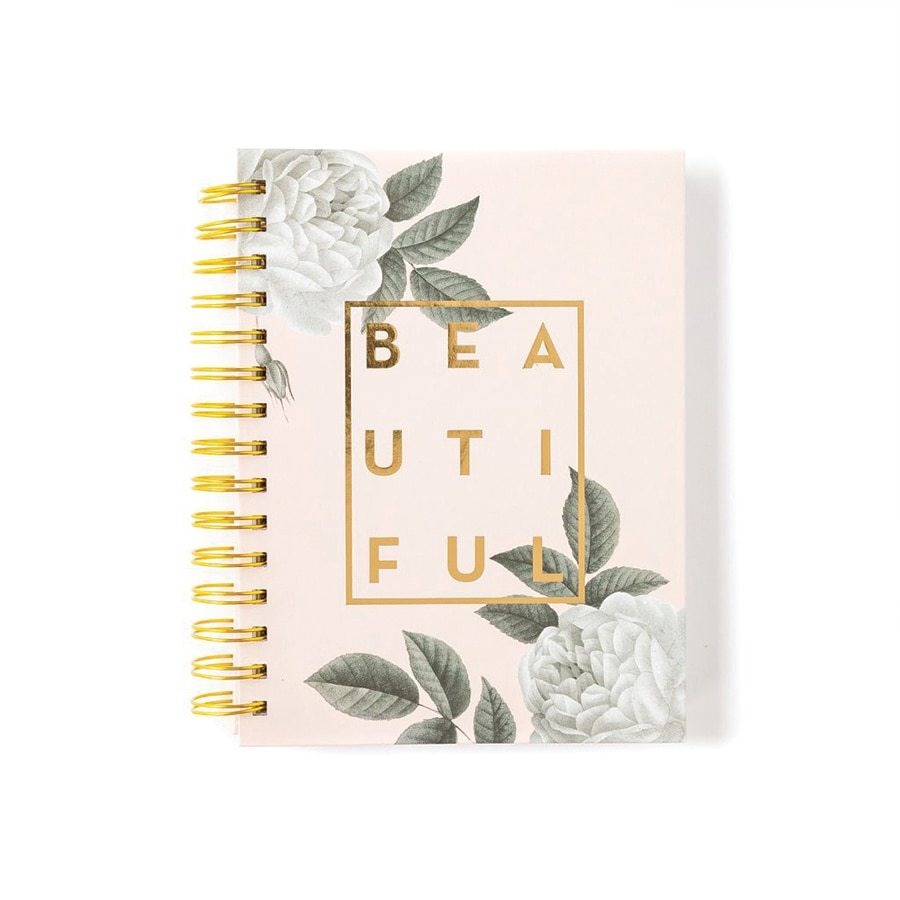 Notizbuch Beautiful Gold Pastell Buch