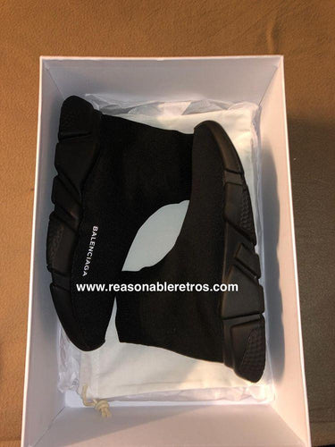 Balenciagas Speed Trainer (Black/Black)
