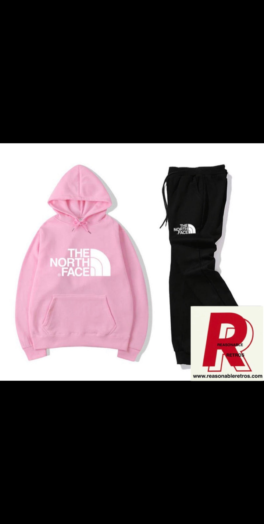 North Face Sweats Suit