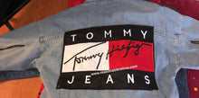 "Load image into Gallery viewer, Tommy Hilfiger Jean Jacket ""light blue"""